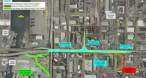 SDOT Spokane Street Modifications